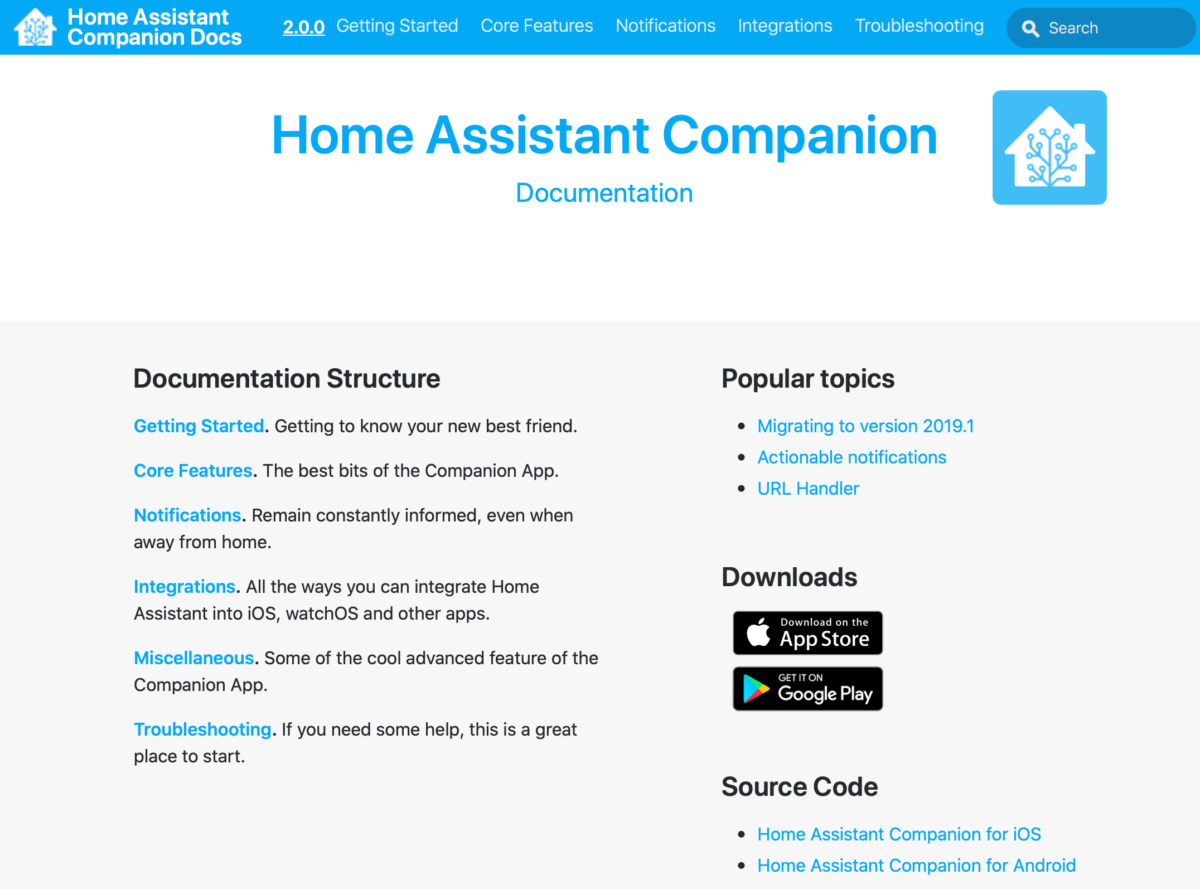 Home Assistant iPhone App